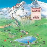 Летняя схема трасс курорта Тинь