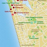 Карта Коломбо