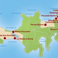 Карта г. Бузиос