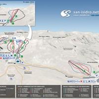 Схема трасс в Сан-Исидро
